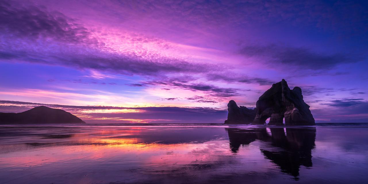 Wharariki Sunset