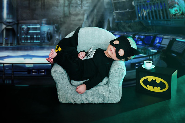 Batman Baby Photo