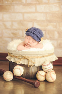 Newborn Baseball Theme