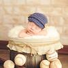 baseball newborn photo