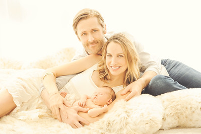 Warm family photos
