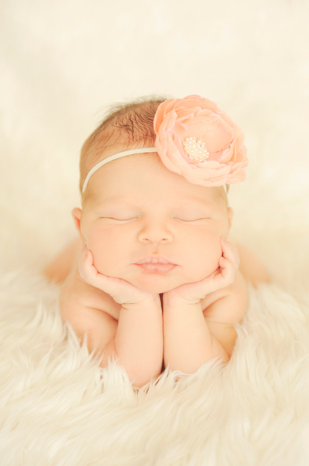 Infant Holding Head