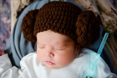 Star Wars Newborn Photo