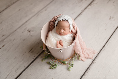 Rockwall TX Newborn Photographer, Rockwall Photographer, Pink Newborn Girl Session,  Rustic newborn baby girl session, newborn girl poses, Rockwall Family Photographer