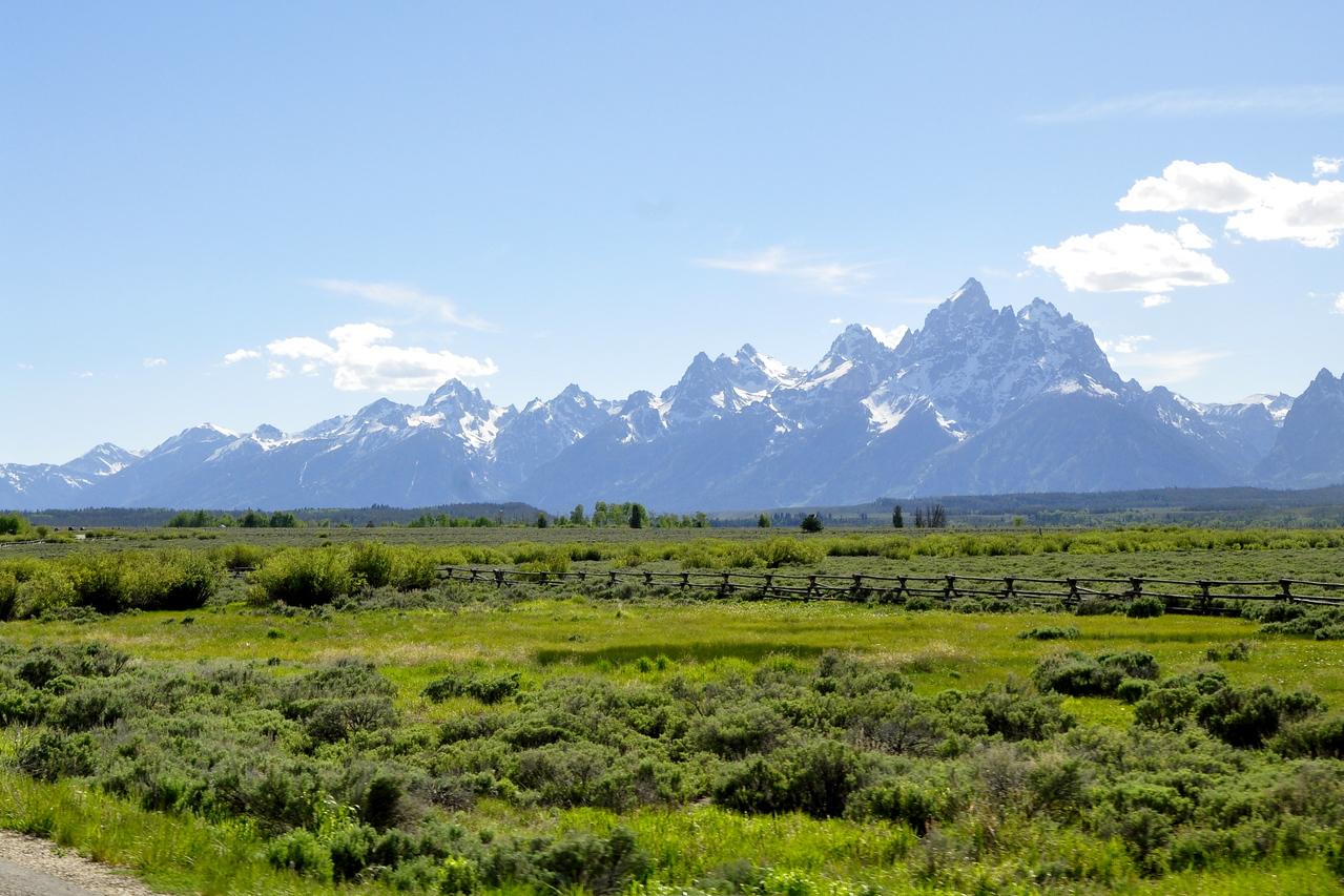 Grand Teton Mts.