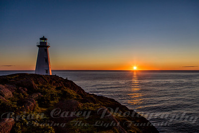 Cape Spear Sunrise July 16 2010 5:26 am