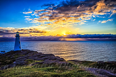 July Sunrise at Cape Spear
