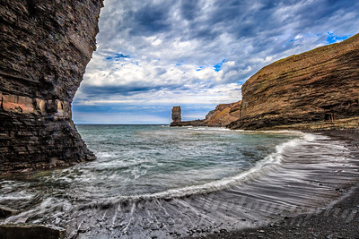 Hidden Beach at Bell Island Newfoundland
