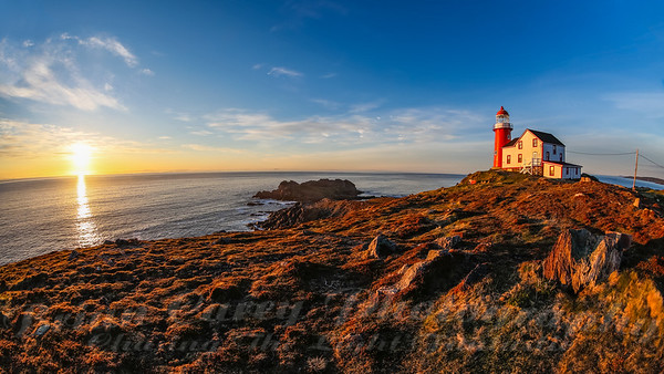 Sunrise at Ferryland Lighthouse