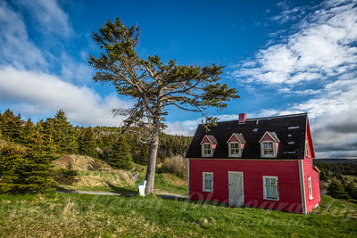 The Little Red House at Tors Cove