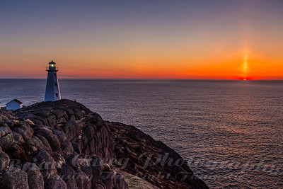 Cape Spear Sunrise April 22 2012 5:53 am