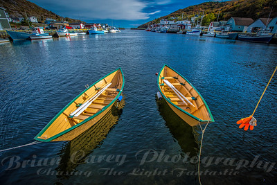 Grand Banks Dories at Petty Harbour Newfoundland