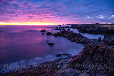 Sunrise at Cape Bonavista