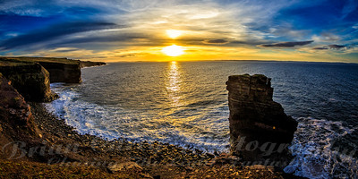 Sunset at Bell Island Newfoundland