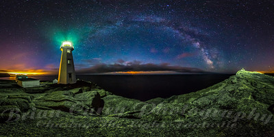 Cape Spear and the Milky Way