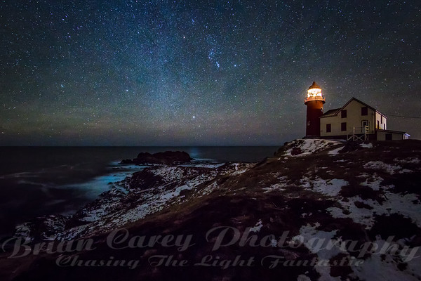 Starry Night at Ferryland Lighthouse