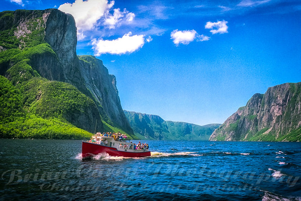 Western Brook Pond Gros Morne National Park 1990