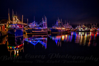 Christmas Reflections at Port de Grave, Newfoundland