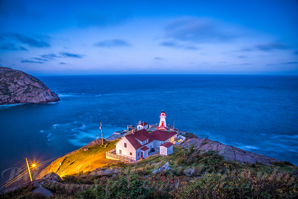 Twilight at Fort Amherst