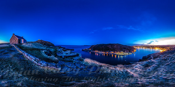 St John's twilight pano