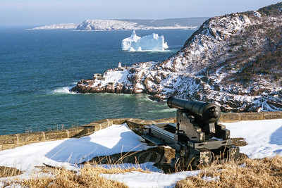 Iceberg at Fort Amherst
