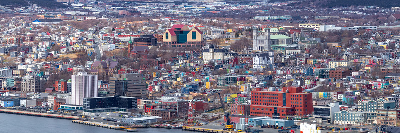 UHD photo of St John's Newfoundland April 29 2019
