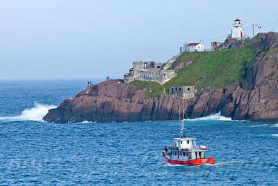 Tour Boat at Fort Amherst