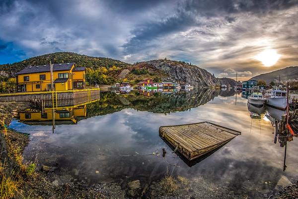 One of those mornings at Quidi Vidi