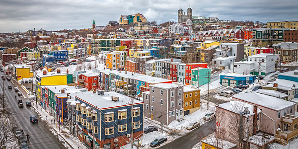 Winter Wonderland in St John's Newfoundland