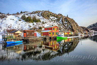 December Reflections at Quidi Vidi Village