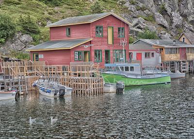 Peaceful afternoon, Quidi Vidi Village, Newfoundland