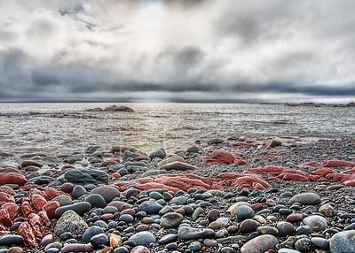 Atlantic shore, Cape St Bride, Newfoundland