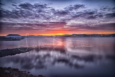 Violet Twillingate sunrise, Newfoundland