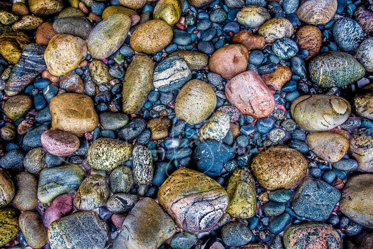 Beach stones, Arches Provincial Park, Newfoundland