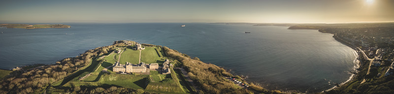 Pendennis Castle, Falmouth, Cornwall, 2018