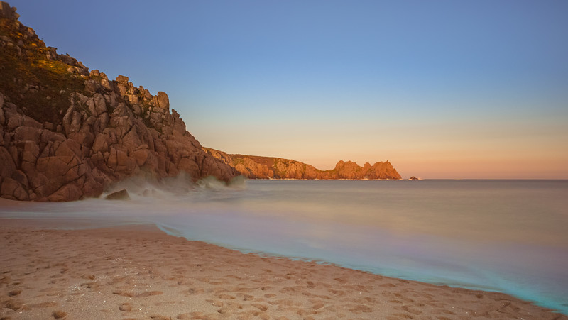 Long exposure,  Porthcurno, Cornwall