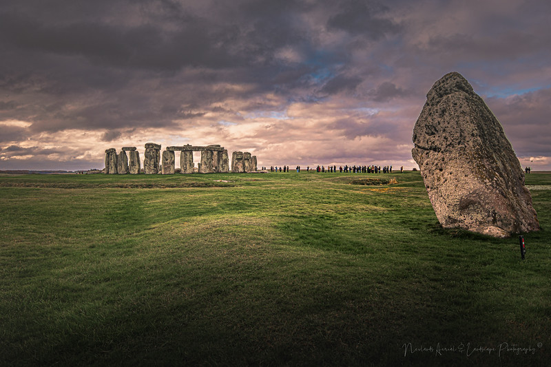 Stonehenge stormy clouds, Wiltshire 2019