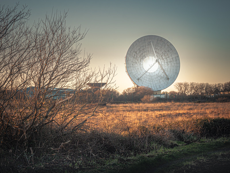 Goonhilly, Satellite Station, Cornwall 2020