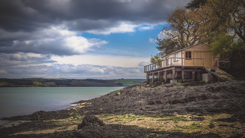Boat house, Restronguet, Cornwall 2018