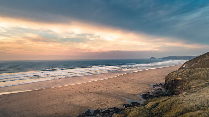 Perranporth beach, Cornwall 2019