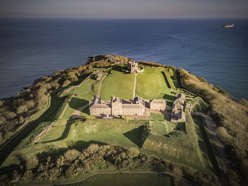 Pendennis Castle, Falmouth, Cornwall 2018