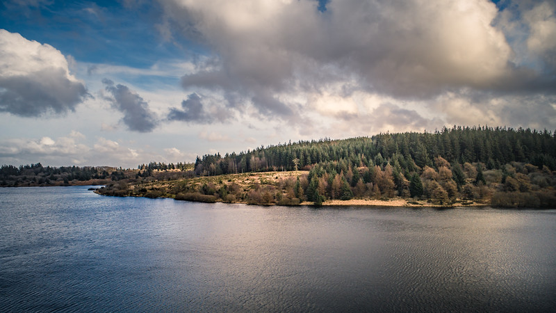 Fernworthy reservoir, Dartmoor National Park, Devon, 2018