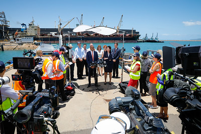 06 December 2016 - Townsville, Qld - Adani Carmichael coal mine announcement in Townsville.  Adani Australia CEO Jeyakumar Janakaraj during a media conference - Photo: Cameron Laird (Ph: 0418 238811 - cameron@cameronlaird.com)