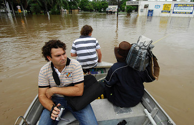 03 FEB 2007 Townsville, QLD - Flooding in the north Queensland sugar town of Giru - PHOTO: CAMERON LAIRD (Ph: 0418238811)