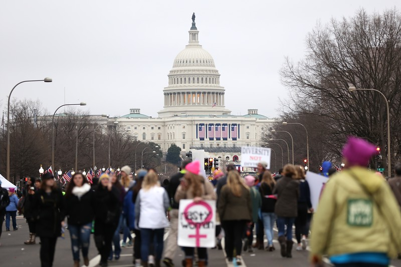 Women's March in Washington D.C.