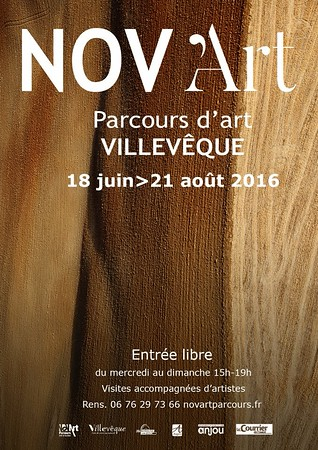 Exhibition Villeveque France  18th June  to 21st August 2016