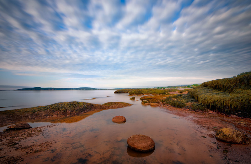 Low Tide on the Bay of Fundy