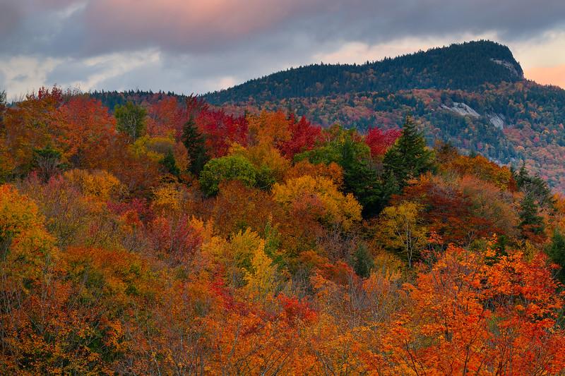 Fall color on the Kancamagus Highway