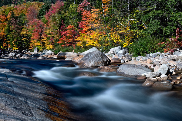 Fall color on the Kancamagus Highway