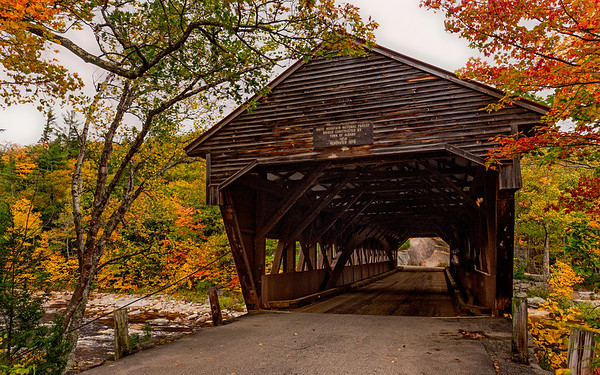 Albany Covered Bridge, Kancamagus HIghway